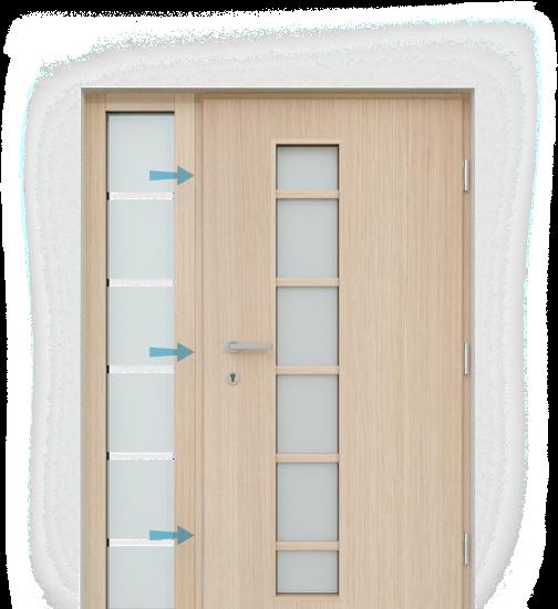 Bezpečnostné kovanie na okná a dvere