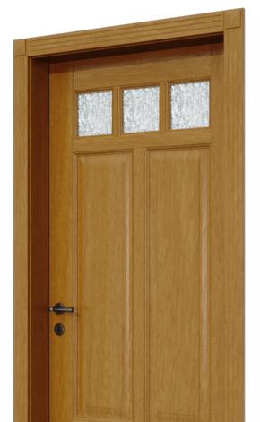 Rustikálne interiérové dvere
