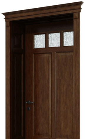 Kazetové interiérové dvere