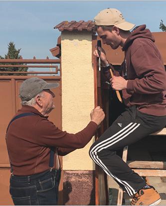 postavenie dielni na dvore s rozlohou 100m2