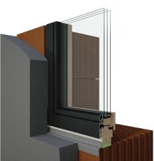 montáž drevených okien a dverí
