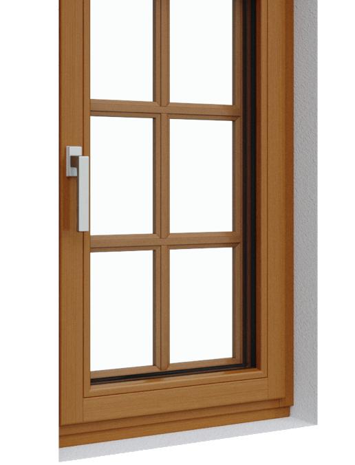 drevene okna