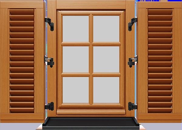 Okenice na drevené okná