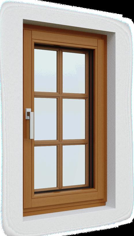 drevene okno na nizkoenergeticke stavby